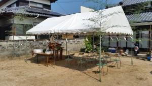 青井邸地鎮祭(H28年7月21日)①